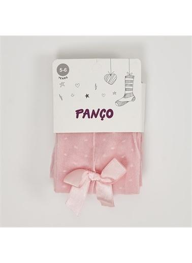 Panço Kız Çocuk Külotlu Çorap 2012GK11002 Pembe